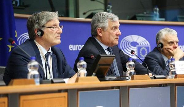 Στήριξη της συμφωνίας των Πρεσπών από τον πρόεδρο του Ευρωκοινοβουλίου