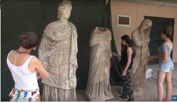 Βρέθηκαν αρχαιοελληνικά αγάλματα 2.000 ετών στην Τουρκία