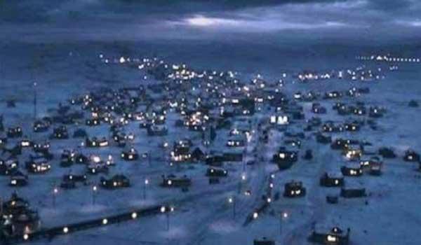 Η πόλη που θα ξαναδεί τον ήλιο μετά από 65 ημέρες. Βίντεο