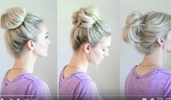 Εξι εύκολοι ατημέλητοι κότσοι για μακριά μαλλιά! Βίντεο