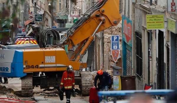 Κατέρρευσαν σπίτια στη Μασσαλία. Εξι νεκροί, φόβοι για νέα κατάρρευση