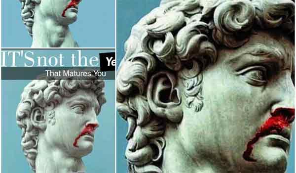 Η γκάφα της ημέρας: Ο ματωμένος Μέγας Αλέξανδρος είναι ο Δαβίδ του Μιχαήλ Άγγελου