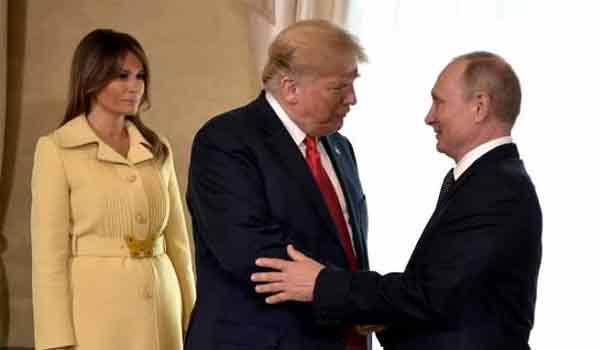 Απίστευτη η αντίδραση της Μελάνια μετά τη χειραψία με τον Πούτιν!