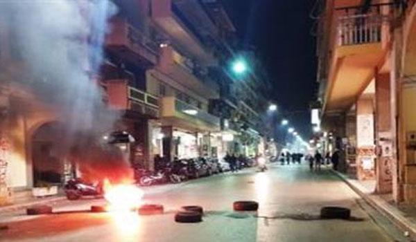 Στον εισαγγελέα 11 από τους 15 συλληφθέντες για τα χτεσινά επεισόδια στη Θεσσαλονίκη