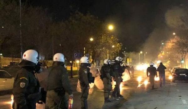 Θεσσαλονίκη: Δεκαπέντε συλλήψεις για τα επεισόδια στις πορείες