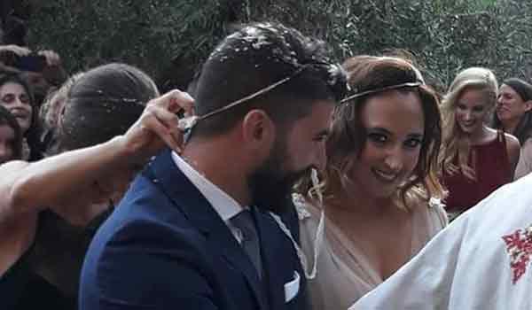 Παντρεύτηκε η Ολυμπιονίκης Κλέλια Πανταζή. Βίντεο