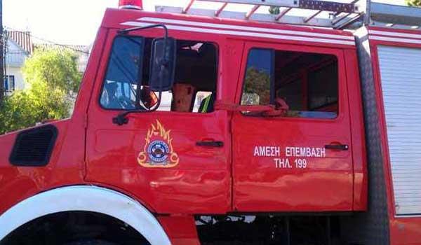 ΙΧ τυλίχθηκε στις φλόγες στα διόδια Προμαχώνα. Bίντεο