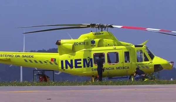 Πορτογαλία: Συνετρίβη ελικόπτερο της υπηρεσίας επείγουσας ιατρικής βοήθειας