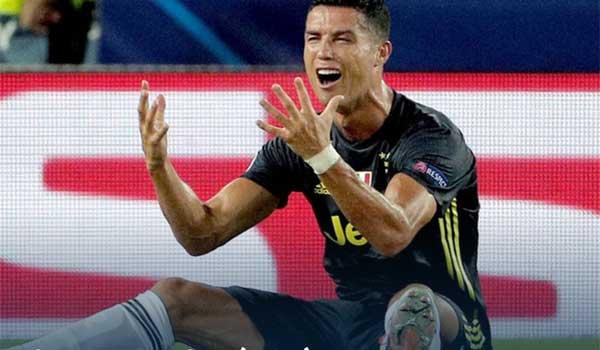 Ξέσπασε σε κλάματα ο Ρονάλντο μετά την αποβολή του στο παιχνίδι με τη Βαλένθια