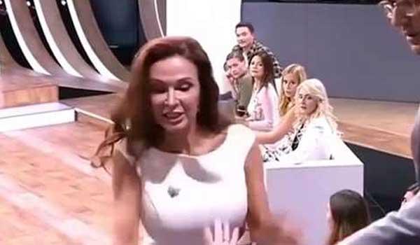Έξαλλη Ρωσίδα σταρ χαστούκισε τηλεθεάτρια on camera! Βίντεο