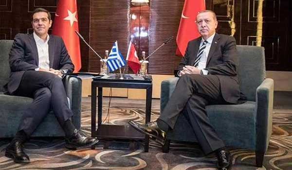 Ολοκληρώθηκε η συνάντηση Τσίπρα - Ερντογάν στη Νέα Υόρκη