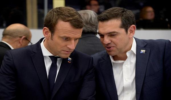 Ο Τσίπρας συνεχάρη τον Μακρόν για την νίκη της Γαλλίας στο Μουντιάλ