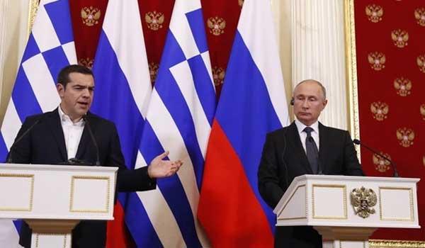 Πούτιν - Τσίπρας: Όσα είπαν για φυσικό αέριο, S-400 και συμφωνία των Πρεσπών