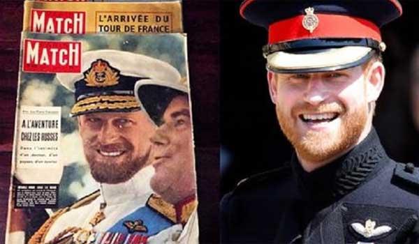 Συγκλονιστική η ομοιότητα του πρίγκιπα Χάρι με τον παππού του Φίλιππο