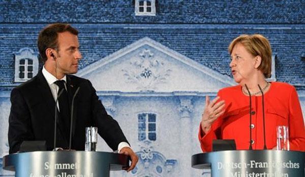 Μέρκελ: Έχουμε μια συγκρουσιακή σχέση με τον Μακρόν