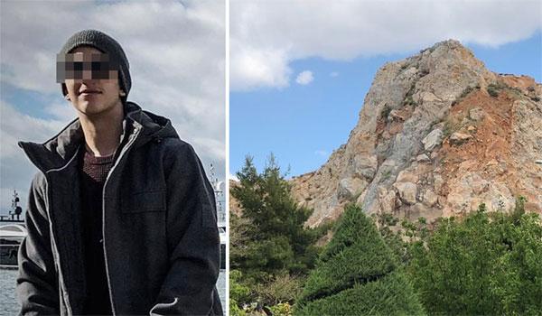 Συγκλονίζει ο θάνατος του 16χρονου που έπεσε από βράχο στο Κερατσίνι