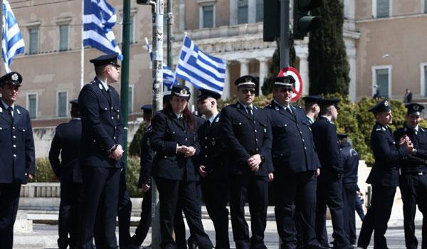Αυξημένα μέτρα ασφαλείας της ΕΛΑΣ για τις παρελάσεις της 25ης Μαρτίου