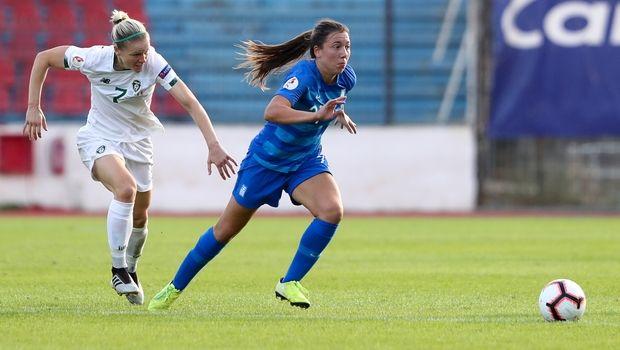 Προκριματικά EURO 2021: Ελλάδα - Ιρλανδία 1-1. Τα κορίτσια του Πριόνα στάθηκαν όρθια
