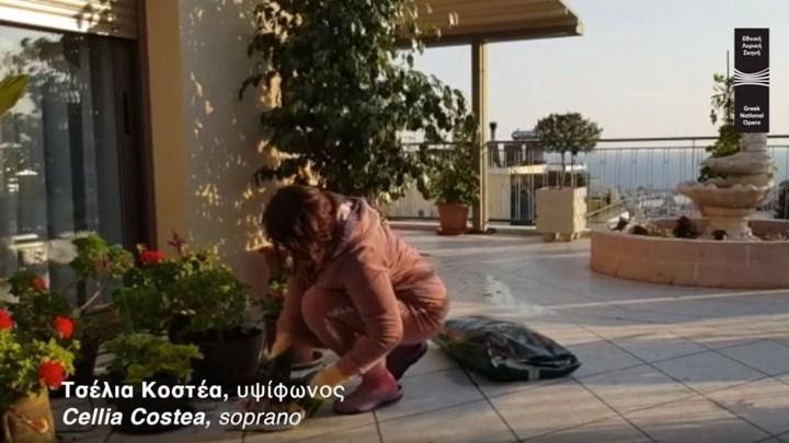 Κορονοϊός - Μένουμε σπίτι: Το απολαυστικό βίντεο των πρωταγωνιστών της Εθνικής Λυρικής Σκηνής