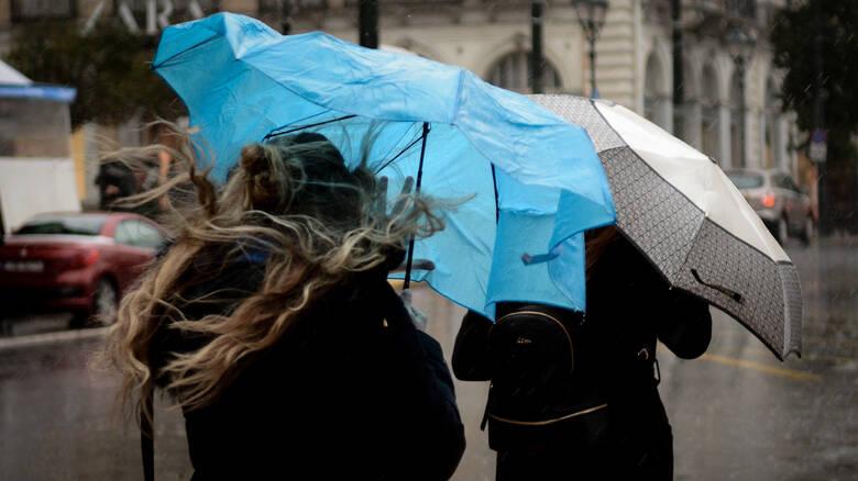 Νέα επιδείνωση του καιρού με κρύο, βροχές, θυελλώδεις ανέμους και χιόνια