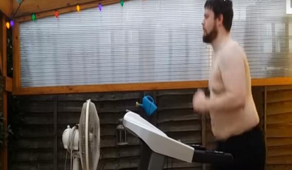Έτρεχε σε διάδρομο για 8 μήνες και δείτε τι κατάφερε