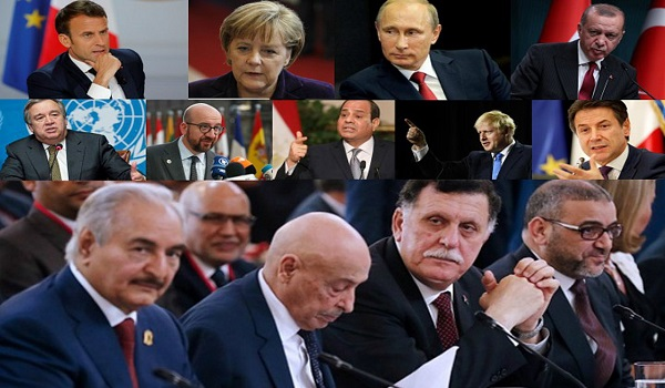Πυρετώδεις διπλωματικές κινήσεις ενόψει της Διάσκεψης για τη Λιβύη - Τι θα συζητήσουν