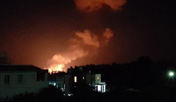 Εκρήξεις σε αποθήκη πυρομαχικών στα κατεχόμενα με τραυματίες - Βίντεο ντοκουμέντο