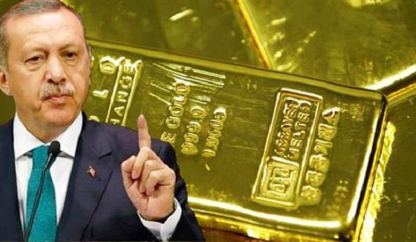 Hurriyet: Ο Ερντογάν απέσυρε από τις ΗΠΑ όλα τα αποθέματα της Τουρκίας σε χρυσό