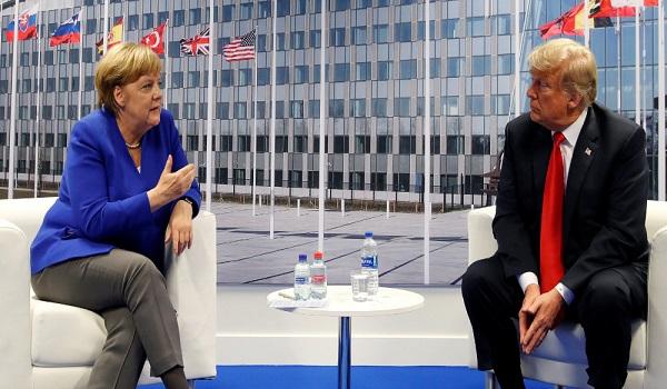 Τραμπ  - Μέρκελ : Έχουμε πολύ καλές σχέσεις