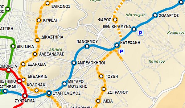 Πράσινο φως του ΣτΕ για τη γραμμή 4 του μετρό - Ποιοι θα είναι οι νέοι σταθμοί