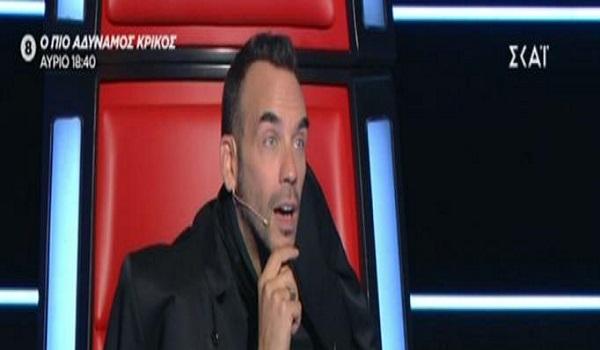 The Voice: Αφωνος ο Πάνος Μουζουράκης με την παλιά του γνώριμη