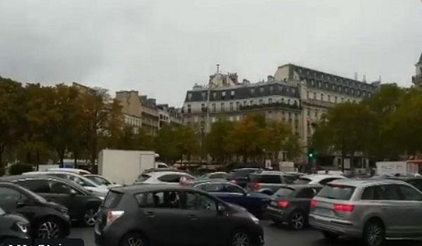 Κυκλοφοριακό χάος στο Παρίσι από απεργία στις μεταφορές