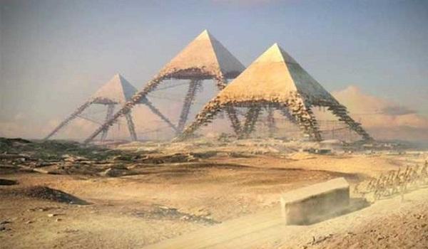 Λύθηκε το μυστήριο - Έτσι έχτισαν τις πυραμίδες της Αιγύπτου