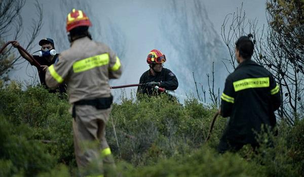 Τρεις πυρκαγιές σε εξέλιξη στην Εύβοια