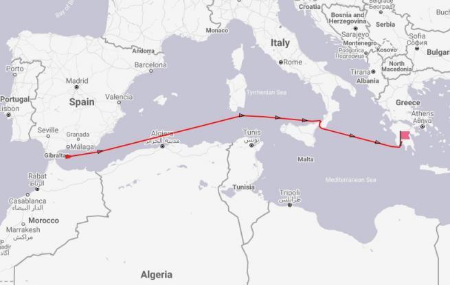 Προς Καλαμάτα πλέει το Grace 1. Το ιρανικό δεξαμενόπλοιο που βρέθηκε στο επίκεντρο της σύγκρουσης Ιράν - Δύσης
