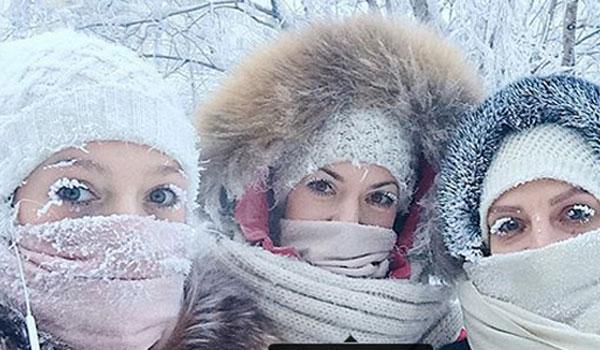 Σιβηρία: Παγώνουν μέχρι και οι βλεφαρίδες των κατοίκων στους -65 βαθμούς