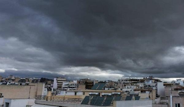 Nεφώσεις με τοπικές ασθενείς βροχές - Η πρόγνωση του καιρού