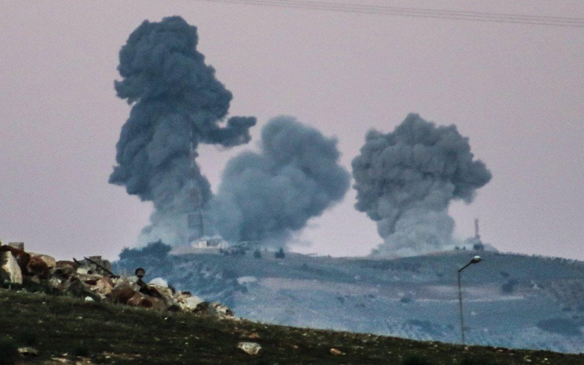 Μόσχα και Άγκυρα κατέγραψαν εκατέρωθεν 61 και 53 παραβιάσεις της εκεχειρίας στην Συρία το τελευταίο 24ωρο