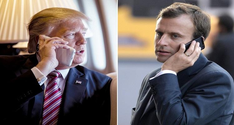Μακρόν: Μίλησα με τον Τραμπ για την ανατολική Μεσόγειο – Θα επιβάλλουμε την ειρήνη και την ασφάλεια