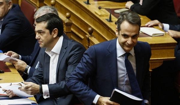 Σύγκρουση Τσίπρα-Μητσοτάκη στη Βουλή για την Συνταγματική Αναθεώρηση, εκλογές και  ΠτΔ