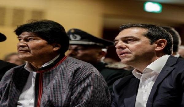 Τσίπρας: Η Αριστερά ηγήθηκε ενός οικονομικού θαύματος - Μοράλες: Αδελφός μου ο Έλληνας πρωθυπουργός