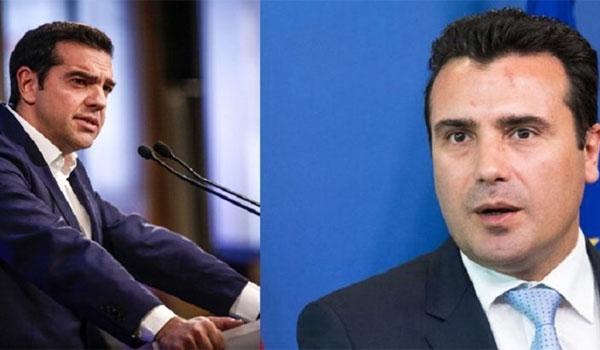 Συνάντηση Τσίπρα – Ζάεφ στο Νταβός για το Σκοπιανό. Κάνει λόγο για δημοψήφισμα