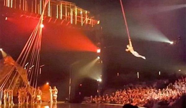 Τραγικό θάνατο βρήκε ακροβάτης του Cirque du Soleil. Βίντεο