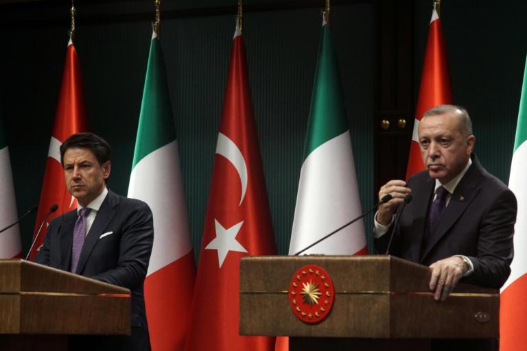 Ιταλία αδειάζει Ερντογάν: Καμία διαπραγμάτευση για συνεκμετάλλευση πετρελαίου στη Μεσόγειο