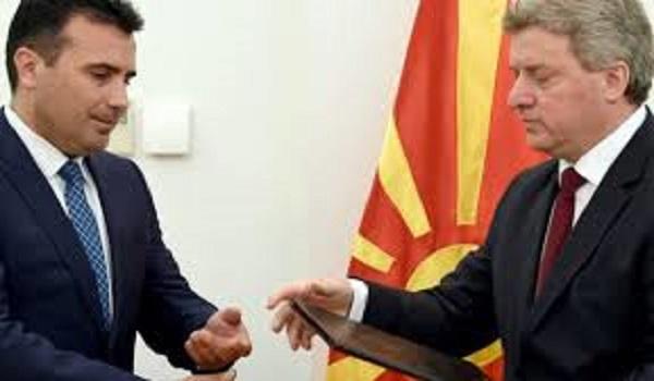 Σκοπιανό: Σκληρή κόντρα Ιβάνοφ -  Ζάεφ: Δεν υπογράφω  - Ο λαός αποφασίζει