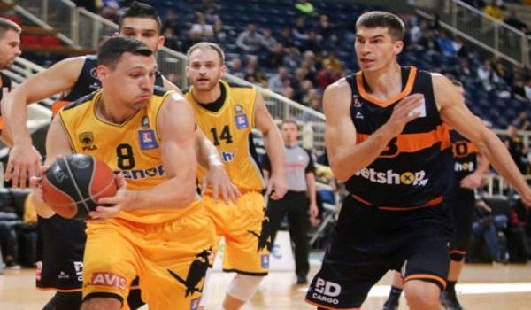 Κυπελλούχος Ελλάδος στο μπάσκετ η ΑΕΚ