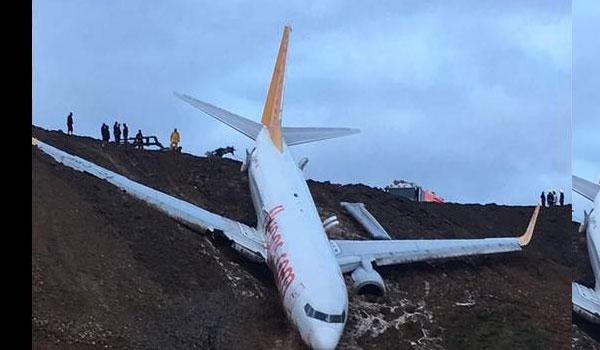 Τουρκία: Αεροσκάφος με 162 επιβαίνοντες κατέληξε σε γκρεμό