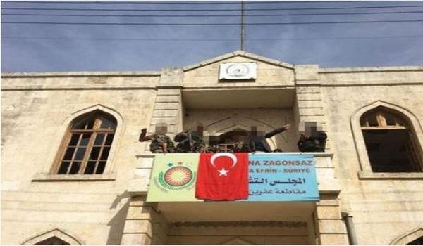Έπεσε το Αφρίν - Ερντογάν: Η σημαία μας κυματίζει στην πόλη
