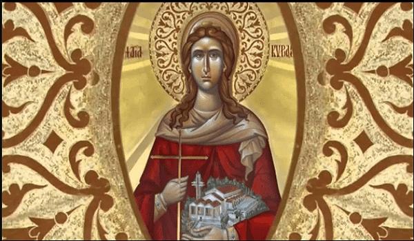 Σήμερα 7 Ιουνίου τιμάται η Αγία Κυριακή
