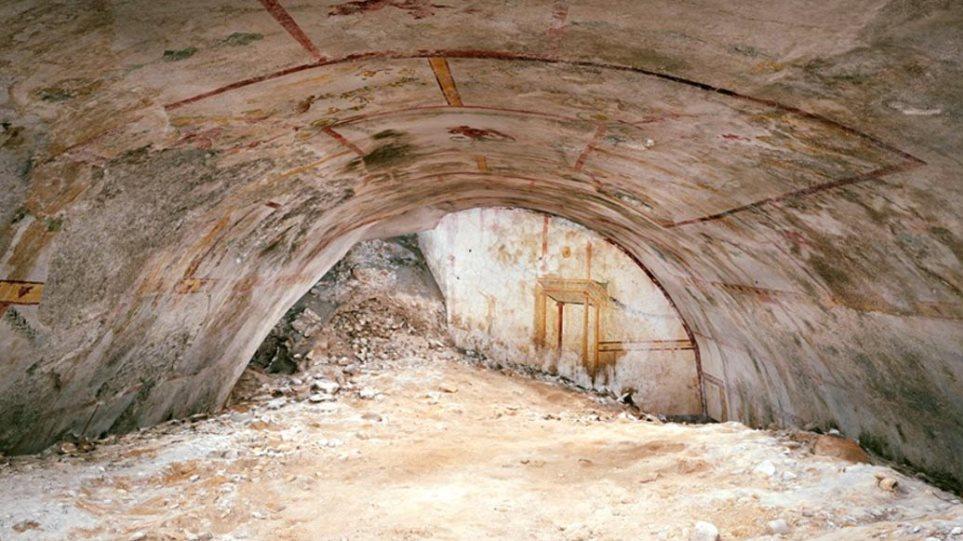 Η Αίθουσα της Σφίγγας: Βρέθηκε θαμμένη άγνωστη αίθουσα στο Χρυσό Ανάκτορο του Νέρωνα
